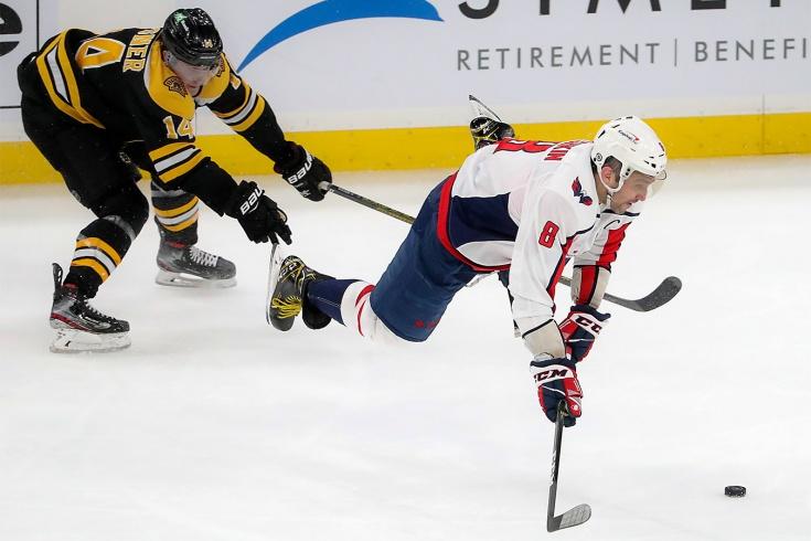 «Бостон» — «Вашингтон» — 6:3, видео, голы, обзор матча чемпионата НХЛ