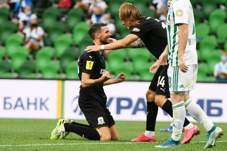 Krasnodar - Akhmat - 4: 0
