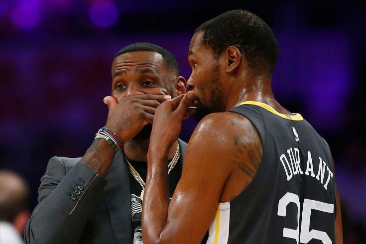 Кевин Дюрант не сможет считаться величайшим игроком НБА по сравнению с Леброном Джеймсом