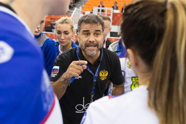Россия разгромила Конго на женском чемпионате мира