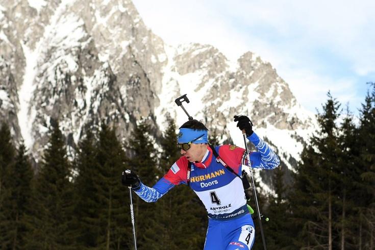 Российский биатлонист Никита Поршнев получил награду IBU как лучший новичок сезона