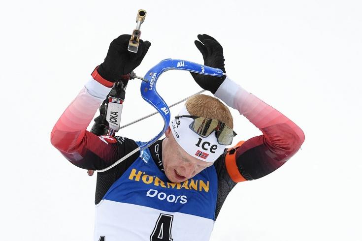 Россияне не попали в топ-20 гонки преследования на Кубке мира, Йоханнес Бё проиграл борьбу за золото