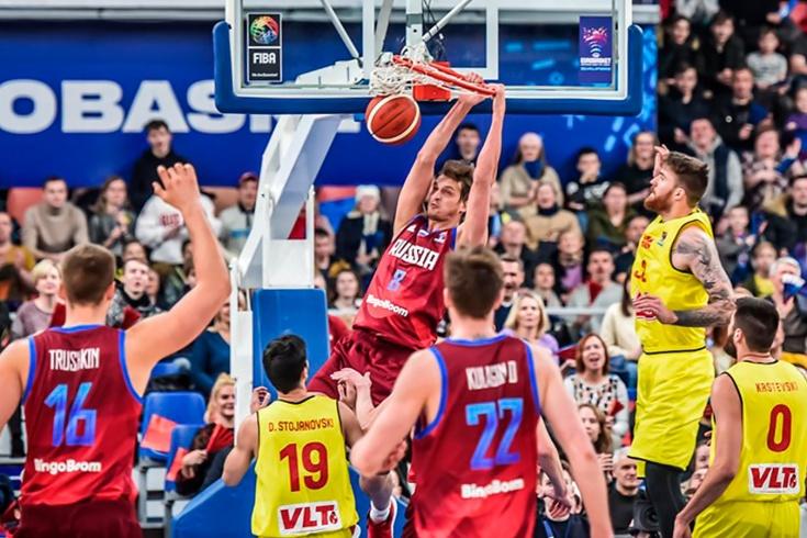 Чемпионат Европы, Россия – Северная Македония – 77:67, обзор матча