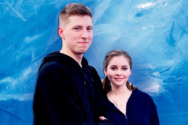 Владислав Тарасенко и Юлия Липницкая