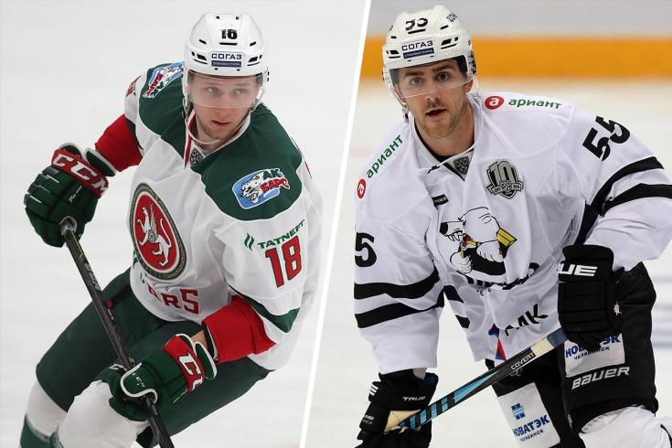 Результаты белорусских хоккеистов в КХЛ