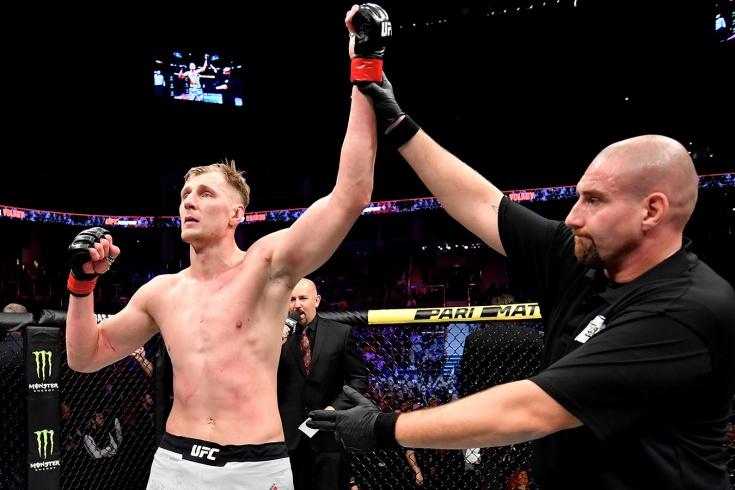 Александр Волков и Алистар Оверим встретятся на UFC Fight Night 6 февраля