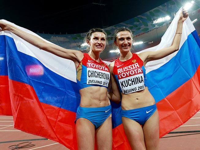 Мария Кучина и Анна Чичерова