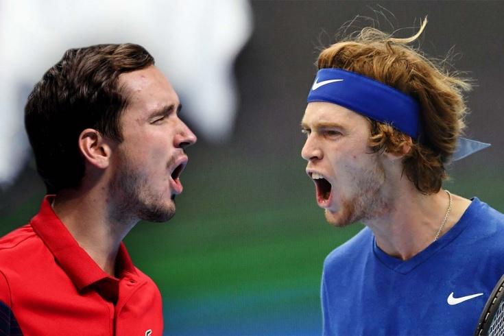 Первый русский четвертьфинал US Open. Медведев и Рублёв разыграют путёвку в полуфинал
