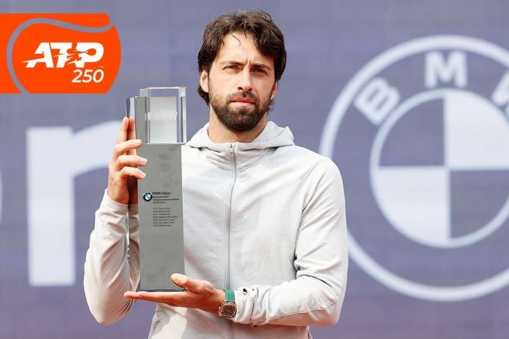 Турнир ATP-250 в Мюнхене: Николоз Басилашвили завоевал пятый титул ATP, красивые розыгрыши, Ивашко, Зверев, Рууд, видео