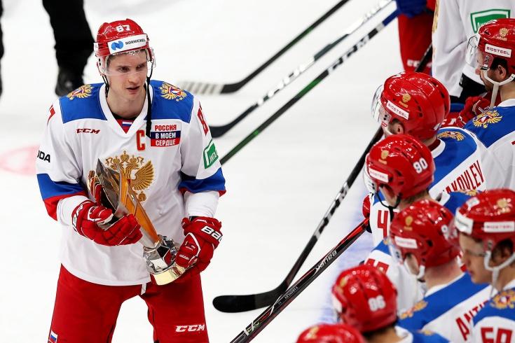 Состав сборной России по хоккею в рамках подготовки к чемпионату мира — 2021