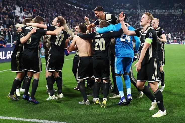 «Аякс» — в полуфинале Лиги чемпионов!