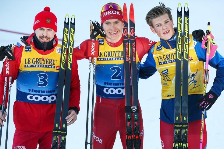 Йоханнес Клебо проиграл российским лыжникам