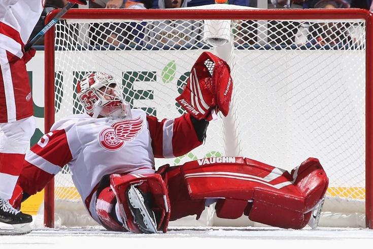Джимми Ховард установил антирекорд НХЛ