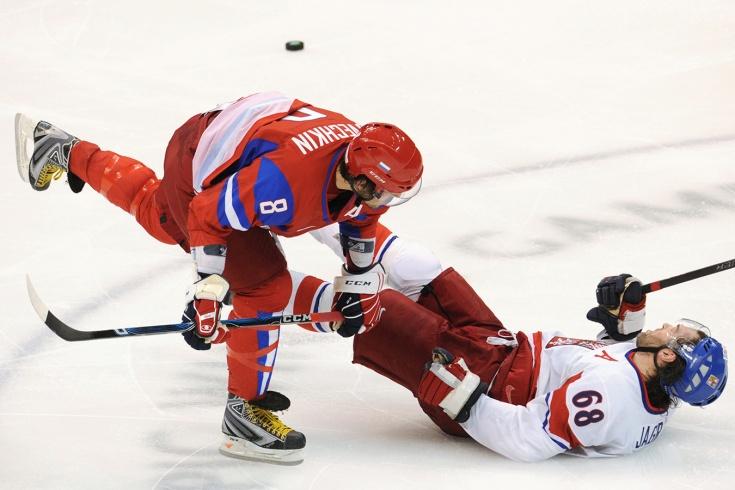 Как Овечкин вырубил Ягра на Олимпиаде в Ванкувере