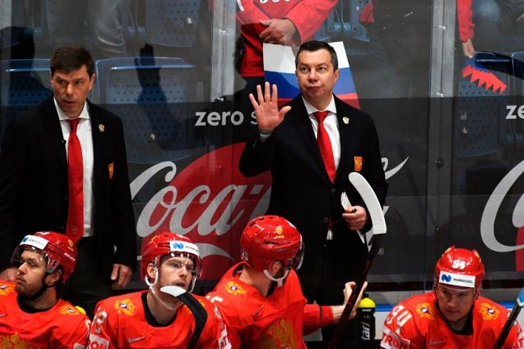 Пресс-конференция главного тренера сборной России