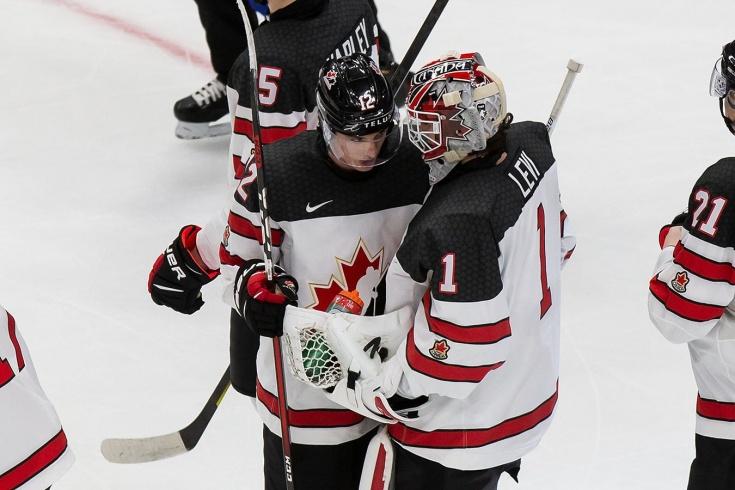 Канадцы едва отбились в концовке от словаков! Это не та сборная, которую нужно бояться?