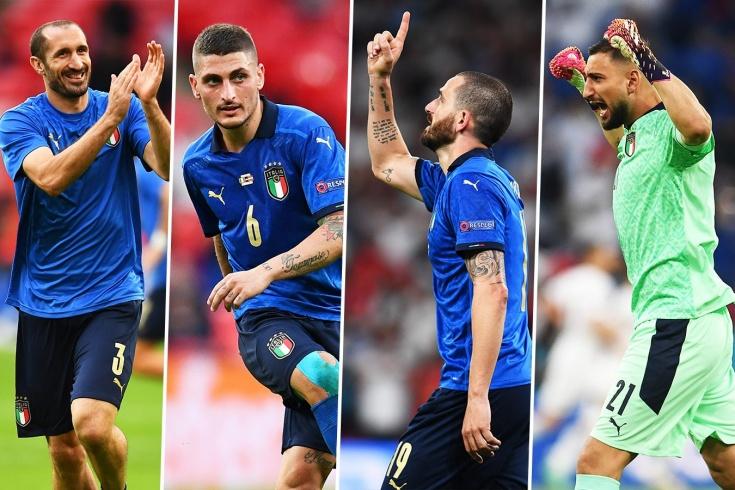 Символическая сборная Евро-2020. Половина команды — итальянцы!