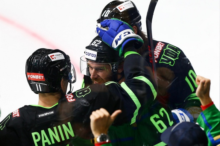 «Салават Юлаев» одержал пять побед подряд на старте сезона-2021/2021, это лучший старт клуба в истории КХЛ