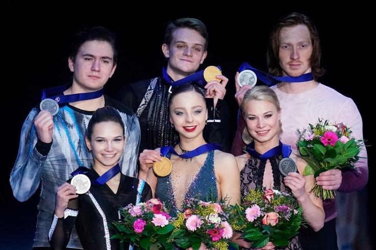 Российский пьедестал на чемпионате Европы