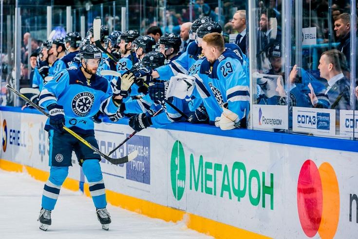 «Сибирь» попала в плей-офф