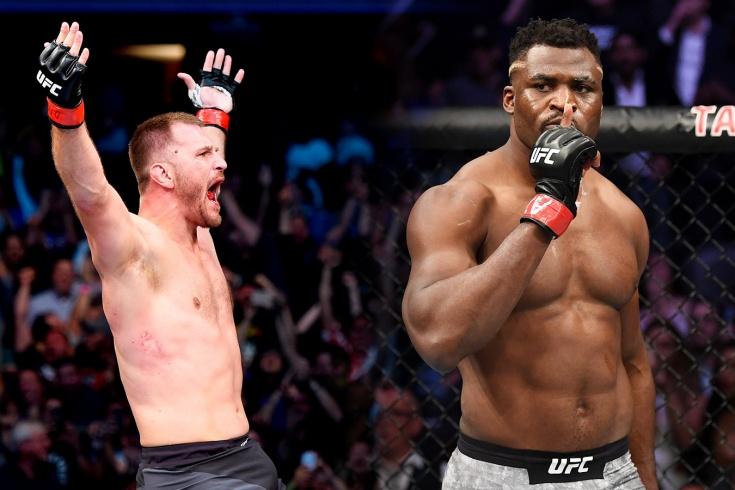 Матч-реванш Миочич — Нганну на UFC 260: выстоит ли чемпион под напором Хищника? LIVE!