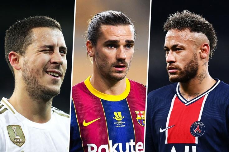 «ПСЖ» собрал суперзвёзд футбола. Чем раньше заканчивались похожие истории у топ-клубов?