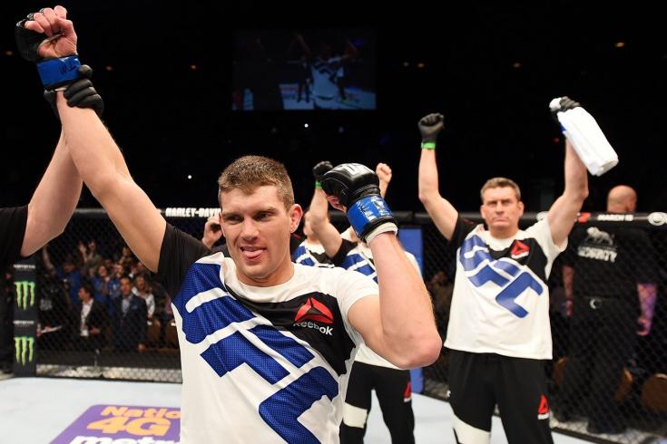 Идеальный дебют Томпсона в UFC
