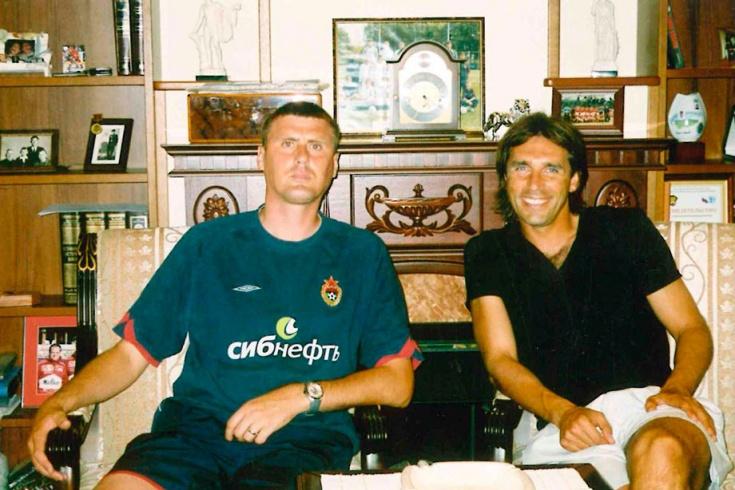 Валерий Минько и Олег Карнаухов