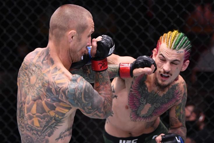 UFC 250 — видео полного боя Шон О`Мэлли — Эдди Вайнлэнда