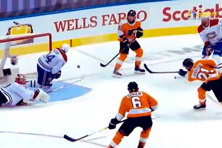 Виртуозный сейв самого дорогого вратаря НХЛ! Прайс эффектно вытащил шайбу концом клюшки