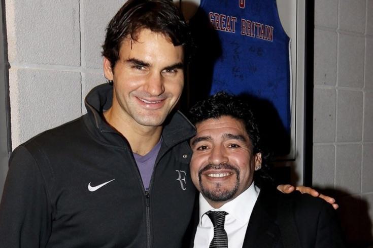 Марадона был фанатом тенниса. С ним прощаются Надаль, Медведев, Сафин, дель Потро, Шварцман, Хачанов