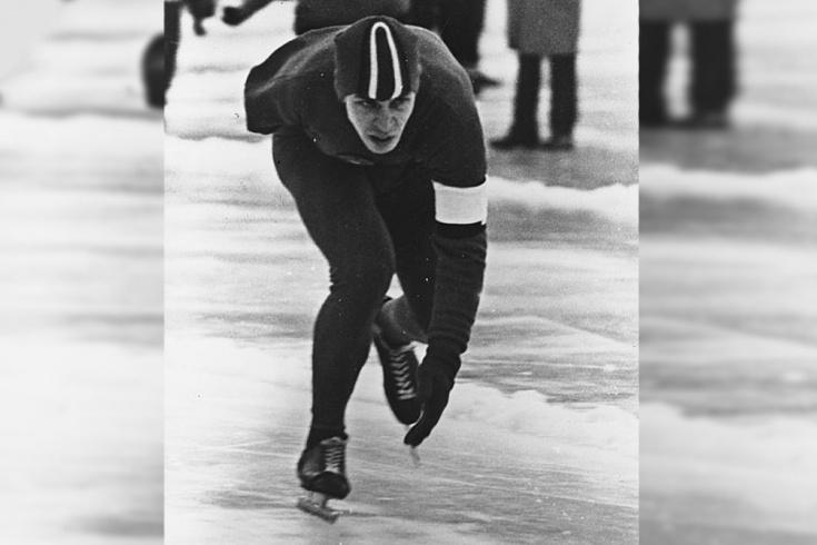 История однорукого конькобежца