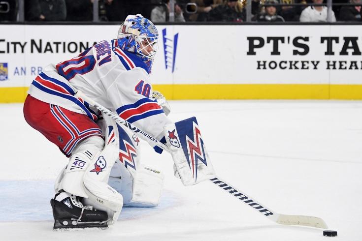 Александр Георгиев стал первой звездой дня в НХЛ