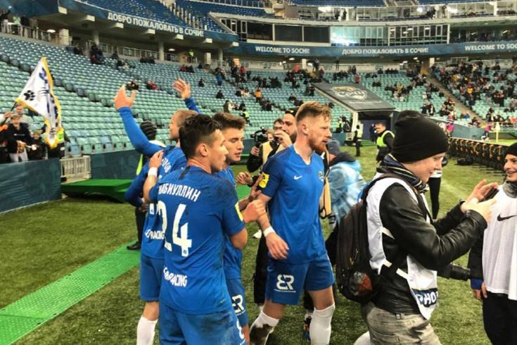Первый гол Кокорина за «Сочи»
