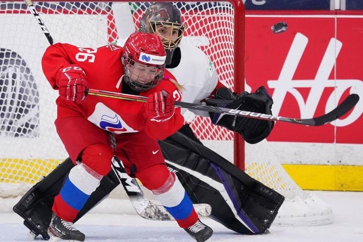 Женская сборная России по хоккею проиграла Швейцарии — 2:3 ОТ, обзор четвертьфинала ЧМ