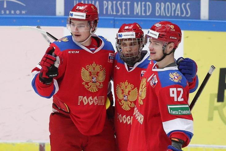 Россия — Чехия — 7:4, видео, голы, обзор матча шведского этапа Еврохоккейтура — 2020/2021