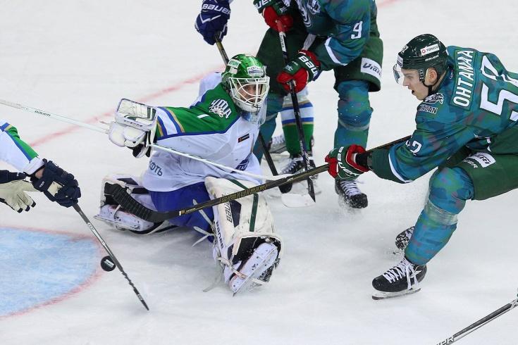 Самый поздний гол в основное время в истории КХЛ, гол Атте Охтамаа в ворота «Салавата»