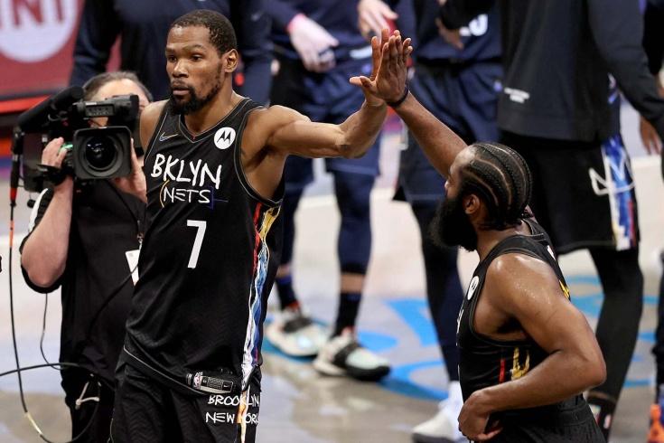 «Бруклин Нетс» вышел вперёд в серии с «Милуоки Бакс», Кевин Дюрант установил исторический рекорд НБА