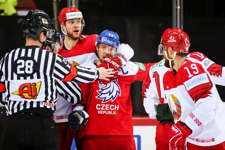 Белорусы были в шаге от очередной сенсации. Игра с чехами закончилась лишь в овертайме