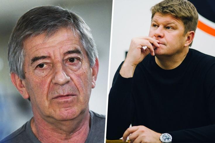 Губерниев поругался с тренером сборной России