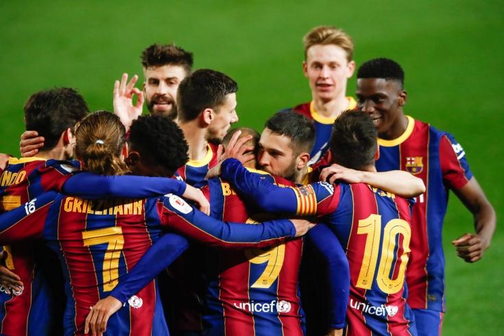«Барселона» — «Севилья» — 3:0, Кубок Испании