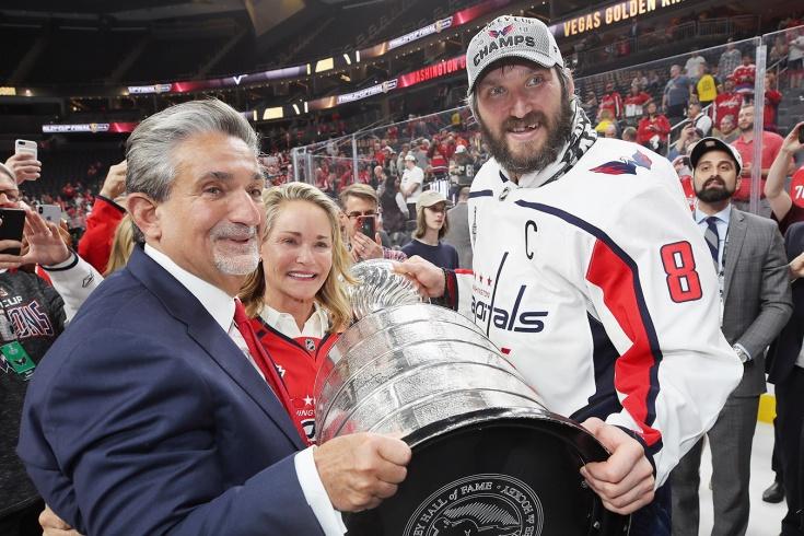 Как Овечкин подписывал рекордный контракт в НХЛ