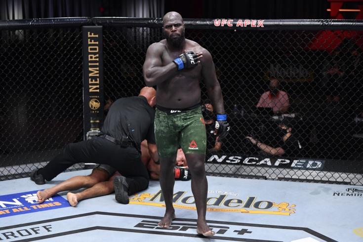 Жаирзиньо Розенстрайк нокаутировал Джуниора Дос Сантоса на UFC 252, видео боя