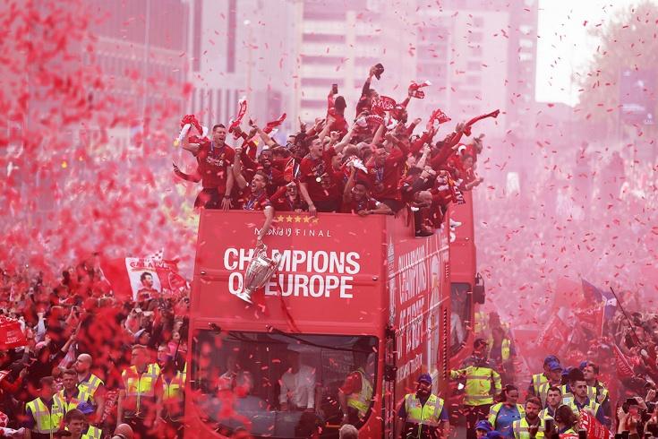 Чемпионский парад «Ливерпуля»