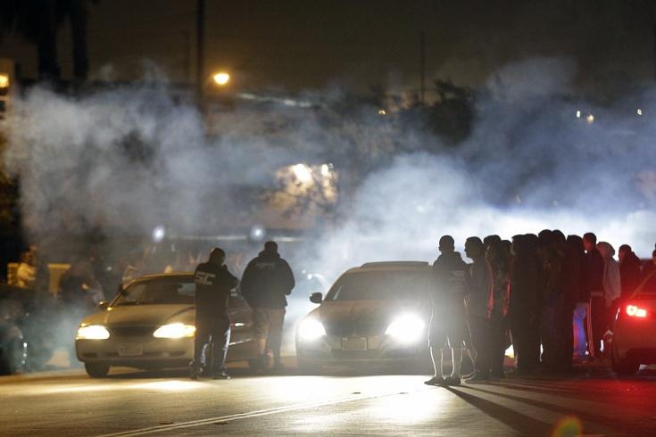 Нелегальные ночные гонки в Омске закончились бедой
