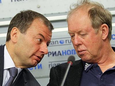 Сергей Кущенко и Вольфганг Пихлер