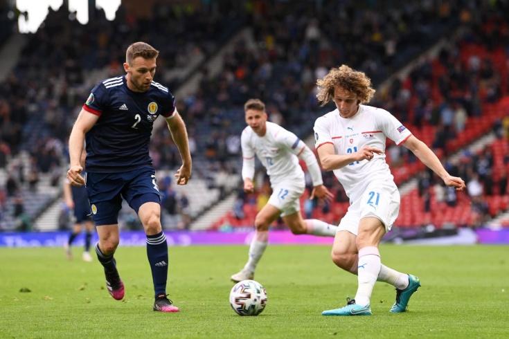 Шотландия — Чехия — 0:2, Евро-2020, 14 июня 2021 года: как сыграл за сборную Чехии спартаковец Алекс Крал