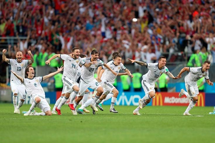 Лучшие фото с матча Россия — Испания на ЧМ-2018