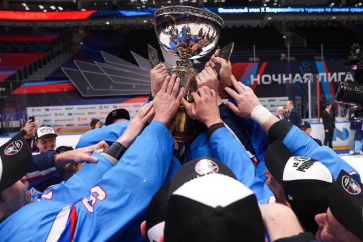 В Сочи проходит десятый фестиваль Ночной хоккейной лиги, итоги, результаты
