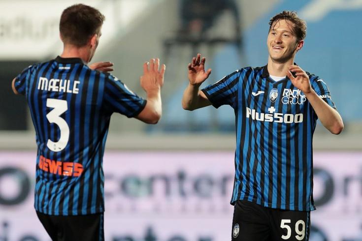 Миранчук забил классный гол за «Аталанту». У него уже пять мячей в Италии